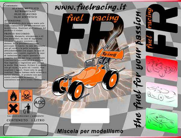 FR-TP25 FUEL RACING Top 25% nitro  lt.1