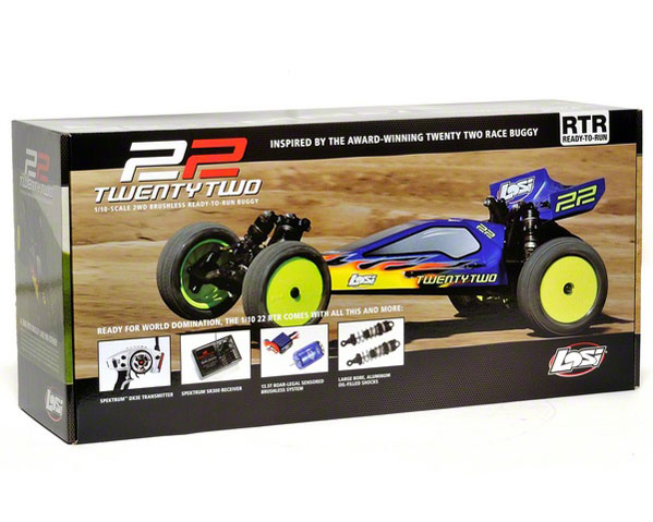 LOSB0122 Team Losi Automodello 1/10 2wd
