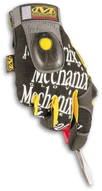 GL5-L Mechanix Wear Guanto Light Nero Taglia L -1paio-