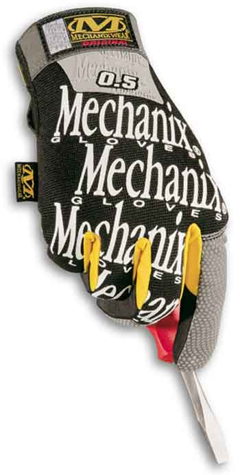 HMG-L Mechanix Wear Guanto Originale 0.5 Nero Taglia L -1Paio-