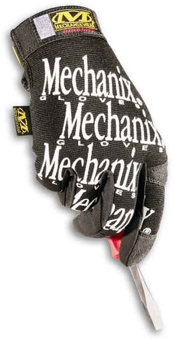 MG-L mechanix Wear Guanto Original Nero Taglia L -1 paio-