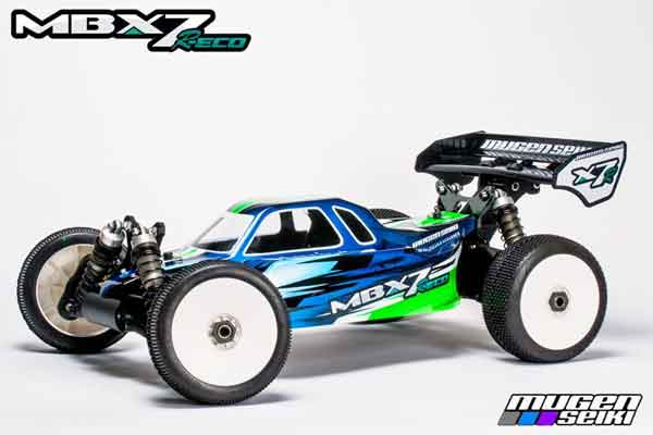 MUGE2016 Mugen Seiki Kit Automodello MBX7-R ECO 1/8 Off Road Buggy Elettrico