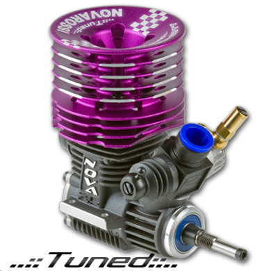 PLUS21-4BTT/LE Novarossi Motore Buggy PLUS21-4BTT/LE Limited Edition 4 Travasi TUNED