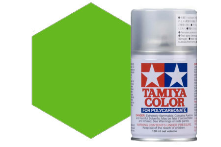 TA-PS08 Tamiya Spray x Policarbonati Col. Light Green
