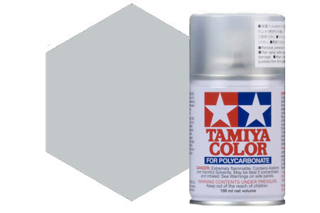 TA-PS41 Tamiya Spray x Policarbonati Col. Bright Silver
