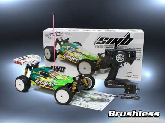 SK-10 Caster Racing Automodello Off Road 1:10 2.4 GHZ RTR Brushless
