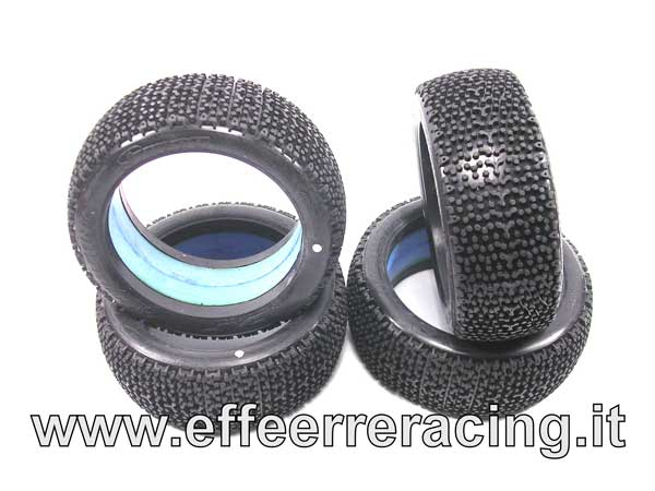 SW-305V2R Sweep Tyres Gomme EXP EXAGON V2 Red da Incollate Mescola Soft (4)