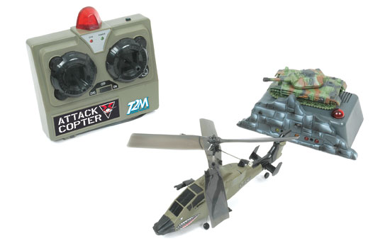 T2T5081 T2M Set Elicottero Attack Copter