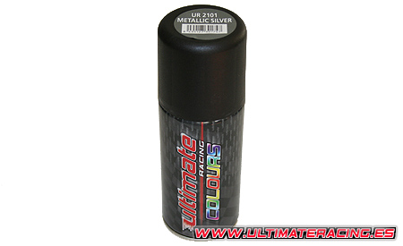 UR2101 Ultimate Bomboletta Spray Silver Metallic 150ml